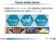 「Toyota Safety Sense」