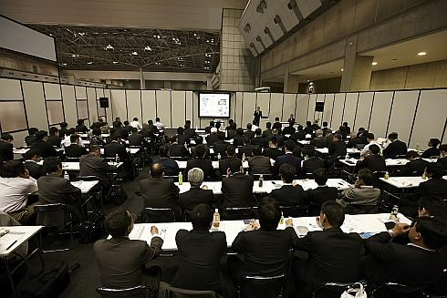「MEDTEC Japan 2015」のセミナーの様子