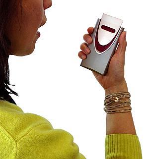 試作したポータブル呼気アルコール検知器