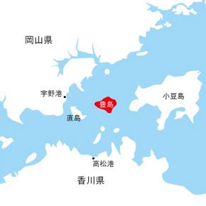 香川県小豆郡土庄町豊島