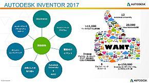 「Inventor 2017」はユーザーの意見を反映して新機能開発を行った