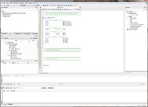 """Photo20:ファイルの追加は、左上のFileタブの中で、""""Files""""フォルダを右クリックして """"Add/Remove Files in Project...""""を呼び出して、そこで行う"""