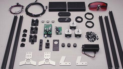 SMART Laser Miniは組み立て式として販売される