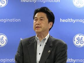 GEヘルスケア・ジャパンの川上潤氏