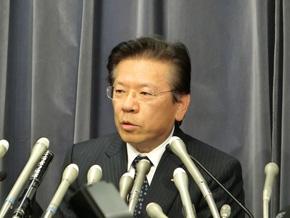 会見で経緯を説明する相川氏