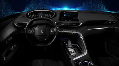 2012年から累計220万台に搭載したPEUGEOT i-Cockpitの進化版となる「New PEUGEOT i-Cockpit」