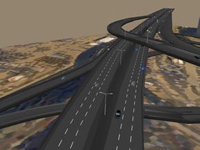 高速道路も再現可