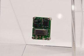 マクニカが参考展示した「IoTワンパックモジュール」