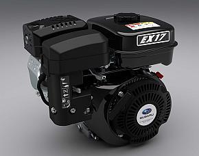 富士重工業の汎用エンジンの最新モデル「EXシリーズ」
