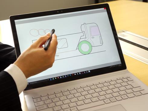 ラフなアイデアを形にするCatchbookはペンやタッチが使えるデバイスと相性が良い