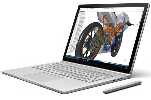 Surface Bookなら「いつでもどこでも設計開発」の可能性が広がる