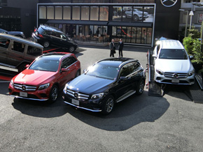Mercedes-Benzのフロントグリル