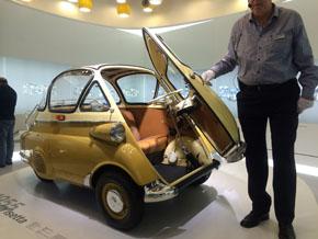 BMW「イセッタ」は特殊なパッケージングのクルマの1つ