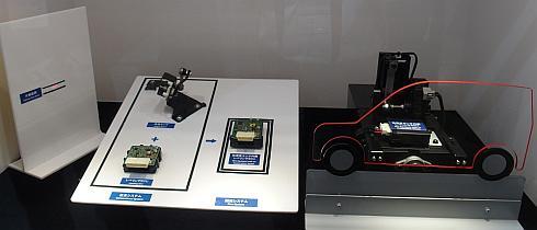 加速度センサーを使ったオートレベリングシステムのデモ
