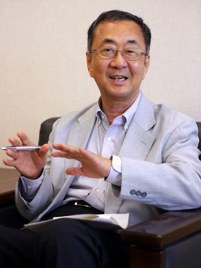 日韓産業技術協力財団 事業第三部長の初瀬川茂氏