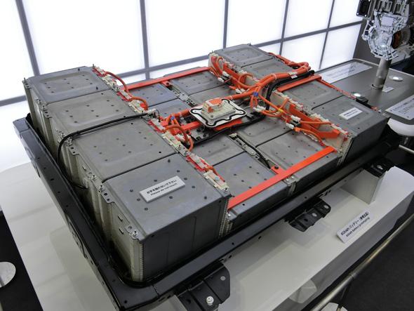 参考出品した容量60kWhのリチウムイオン電池パック