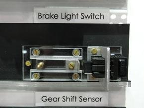 非接触タイプのブレーキランプ用スイッチ