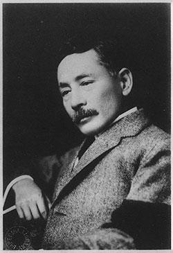 夏目漱石(出典:国立国会図書館「近代日本人の肖像」)