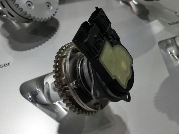 シェフラー初となる電動可変バルブタイミング機構