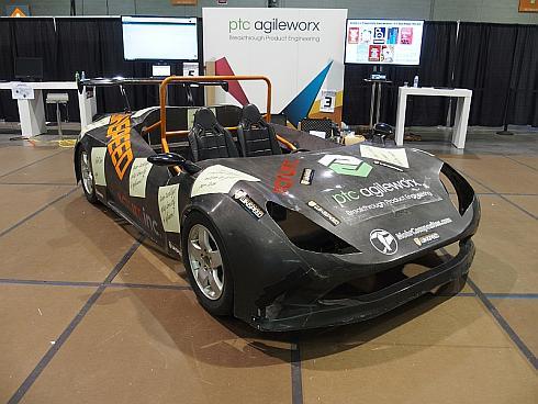 「Build-a-Thon」で開発した自動車