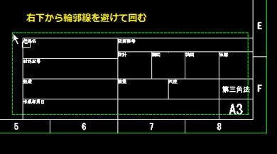 autocad pdf 文字 枠