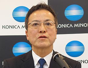 コニカミノルタジャパンの原口淳氏