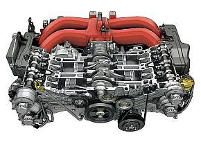 排気量2.0lの水平対向エンジン