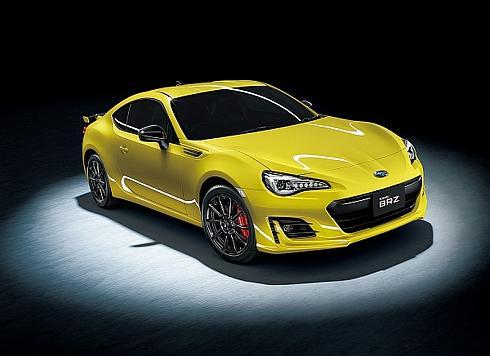 「BRZ」の上級グレード「GT」の特別仕様車「Yellow Edition」
