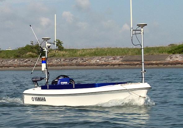 小型観測艇「BREEZE10」