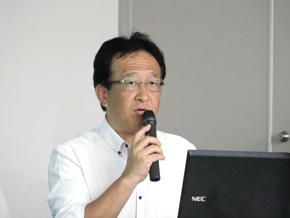 大会委員長を務めるトヨタ自動車 松本保志氏