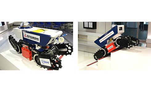 三菱重工業と千葉工業大学が開発した防爆性能を備えた移動ロボット