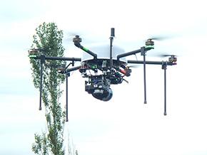 エンルートとAce-1が開発した、レーザースキャナー搭載ドローン
