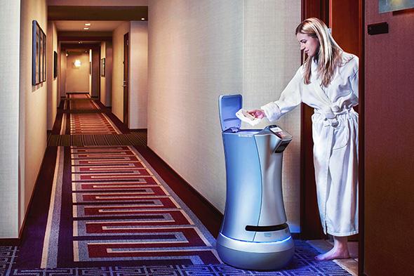 Saviokeのホテル向け執事ロボット