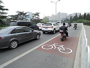 昔に比べれば自転車の数は大きく減少