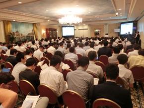 2日間にわたって開催した「Autonomous Vehicle and ADAS Japan 2016」には200人を超える関係者が出席した