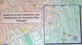 「Watson IoT for Automotive」の地図関連機能のイメージ