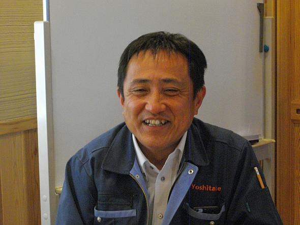 吉武工務店社長の吉田丈彦氏
