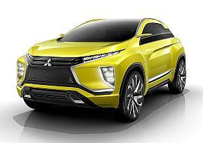 電気自動車SUVのコンセプトカー「MITSUBISHI eX Concept」