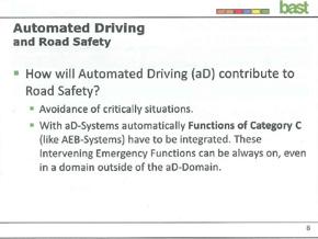 路上の安全にはどう貢献すべきか