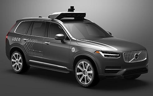 ボルボとウーバーが共同開発する自動運転ベース車両のイメージ