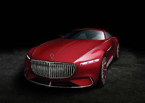 高級クーペのコンセプトカー「ビジョン・メルセデス・マイバッハ6」