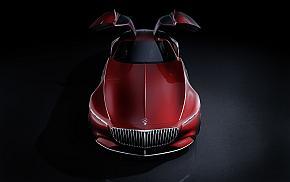 「ビジョン・メルセデス・マイバッハ6」はダイムラー伝統のガルウイングドアを装備