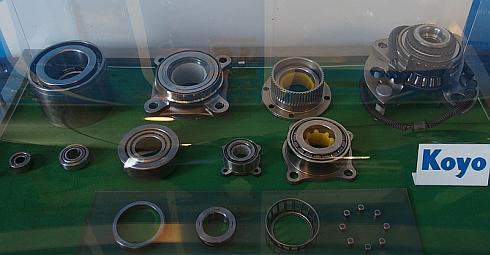 ジェイテクトの香川工場が生産している円すいころ軸受