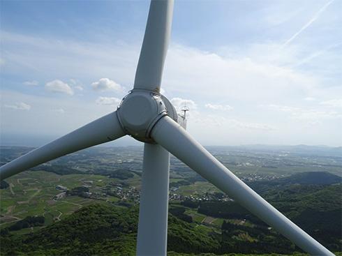 頴娃風力発電所での運用
