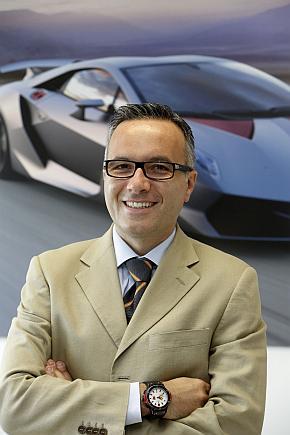 ランボルギーニのルチアーノ・デ・オト氏