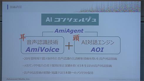 「AIコンシェルジュ」