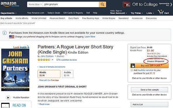 アマゾンの「Amazon Whispernet」では、コンテンツのダウンロードに関わるデータ通信料はアマゾンが負担する