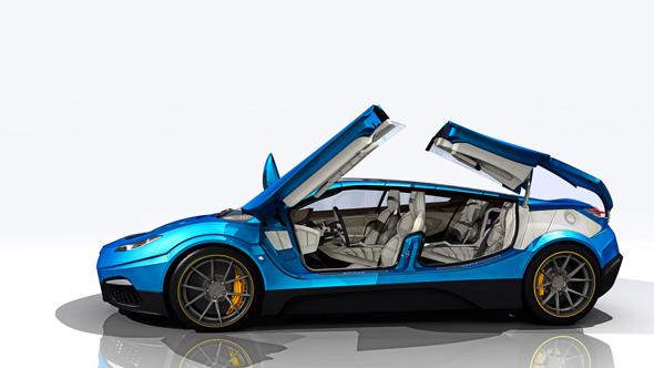 サヴェージ・リヴァーレが発表している「ロードヨットGTS」のデザイン