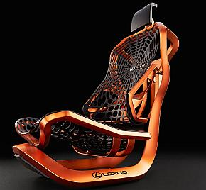レクサスのコンセプトシート「Kinetic Seat Concept」