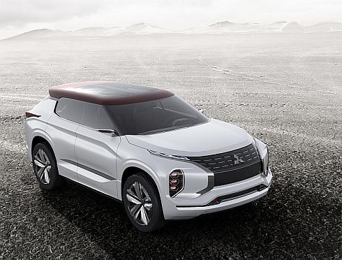 三菱自動車の「GT-PHEVコンセプト」